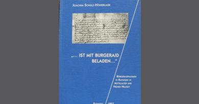 """Joachim Schulz-Hönerlage """"...ist mit Burgeraydt beladen..."""""""