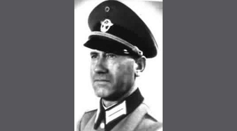 Paul Salitter - Führer der dritten Judendeportation aus Düsseldorf vom 11. Dez. 1941