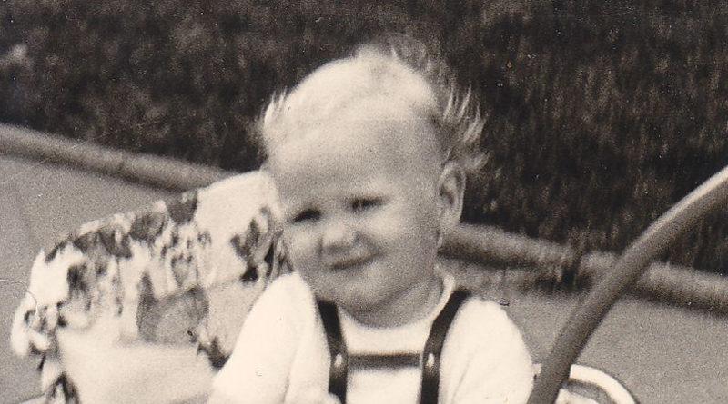 Uwe Wassenberg in den 1960er Jahren