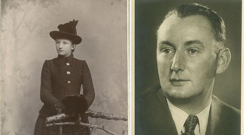Die Düsseldorferin Adele Statz, geborene Biesenbach, (1875 – 1934) und ihr Sohn Leo Statz - © Stadtarchiv Düsseldorf