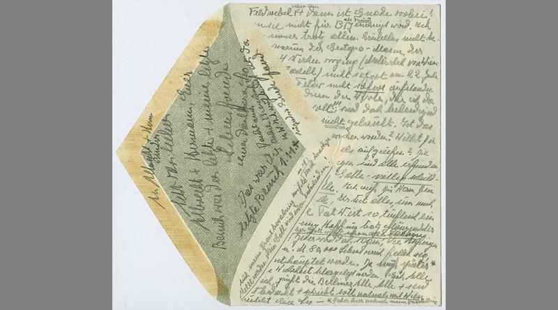 Teil des Nachlasses sind auch zahlreiche Schriftstücke von Leo Statz, etwa sein letzter, am Tag der Hinrichtung (1. November 1943) fertiggestellter Abschiedsbrief