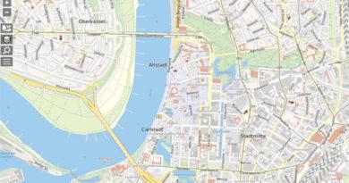 Düsseldorf: Neuer amtlicher Stadtplan online