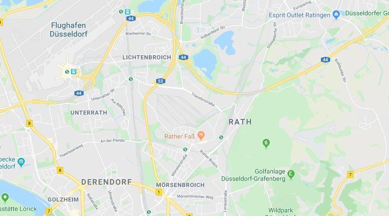 Rath und Unterrath in der Düsseldorfer Geschichte - Landschaftsbildung und erste Besiedlung