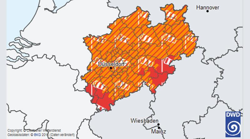 Sturmtief Sabine: Städtische Schulen, Kindergärten und Sportstätten bleiben am Mo., den 10 Feb. 2020 geschlossen