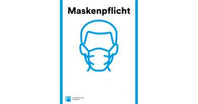 4 Nov 2020 - Maskenpflicht - Schild