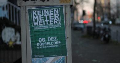 """Demonstrationen von Querdenken und Gegenproteste, organisiert von """"Düsseldorf stellt sich quer"""" am So, 6 Dez 2020"""