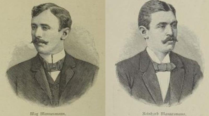 Die Brüder Max und Reinhard Mannesmann